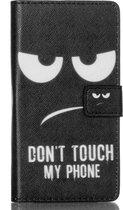 Huawei Ascend P8 Lite wallet hoesje don't touch