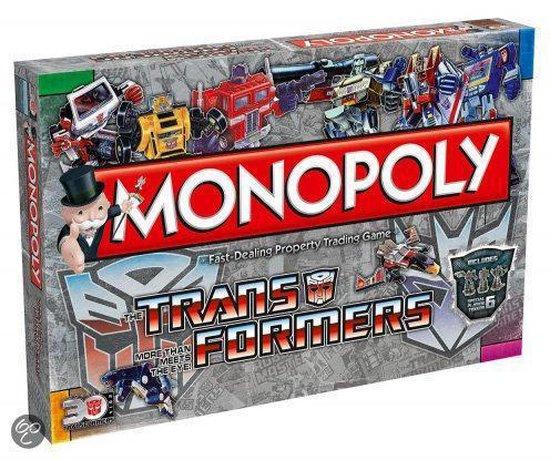 Monopoly Transformers Retro - Monopoly