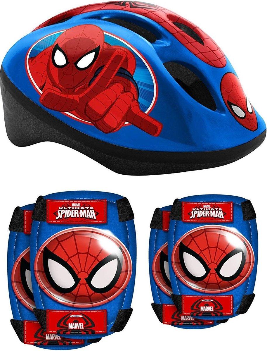 Marvel Beschermset Spider-man Blauw/rood 5-delig