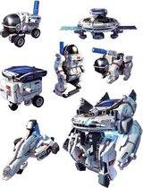 Imaginarium 7X1 Eco-Space - Bouwpakket Robot - 7 Modellen - Op Zonne-energie