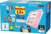 Nintendo 2DS Console - Roze + Tomodachi Life