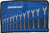 Silverline 12-delige steekringsleutel set 6 - 22 mm