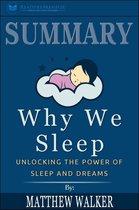 Afbeelding van Summary of Why We Sleep: Unlocking the Power of Sleep and Dreams by Matthew Walker