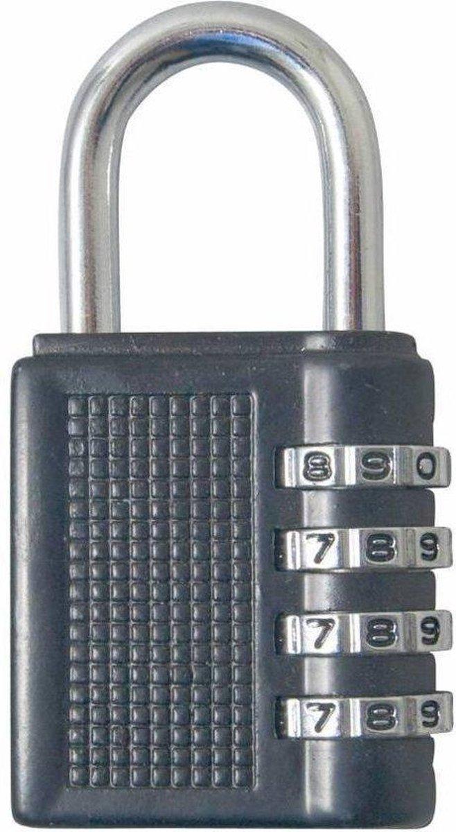 Stahlex - Hangslot - Cijferslot - 80 mm