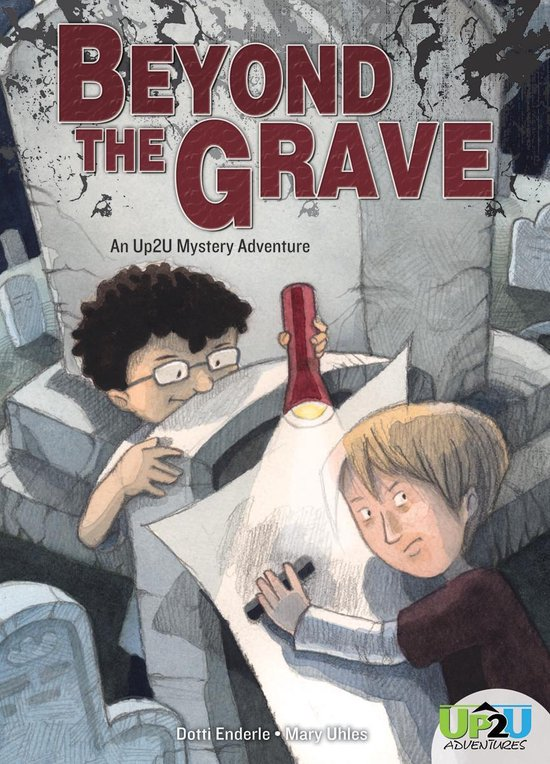 Boek cover Beyond the Grave: An Up2U Mystery Adventure van Dotti Enderle (Onbekend)