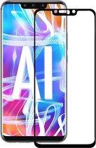 Huawei Mate 20 Lite Screen Protector Glazen Gehard | Full Screen Cover Volledig Beeld | Tempered Glass - van iCall