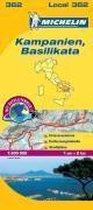 Michelin Lokalkarte Kampanien - Basilikata 1 : 200 000