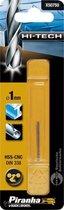 Piranha HI-TECH metaalboor 2x 1mm X50750