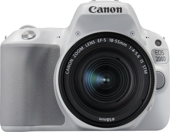Canon EOS 200D + 18-55mm IS STM - Wit