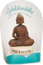 Geluksbeeldje - Omdat ik van je hou - Boeddha