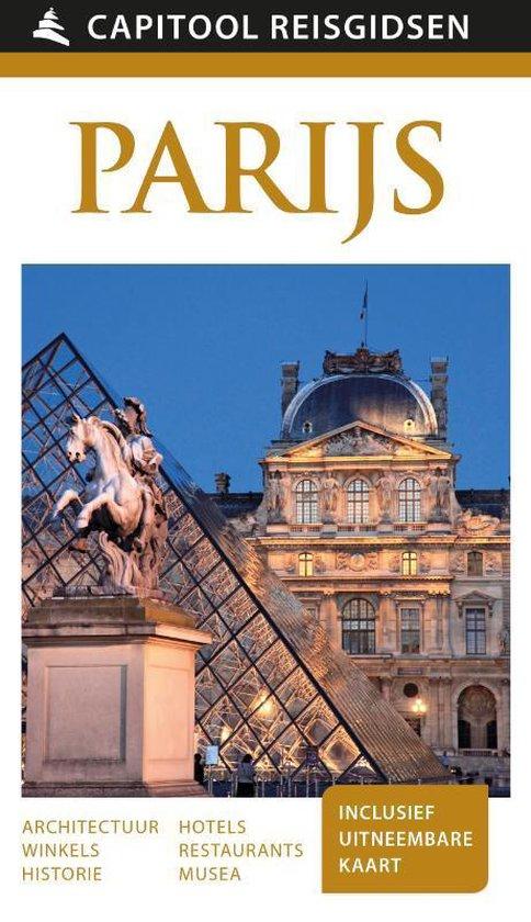 Boek cover Capitool reisgidsen  -   Parijs van Capitool (Paperback)