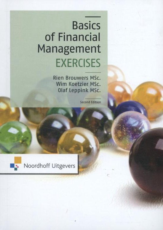 Basics of financial management - M.P. Brouwers pdf epub