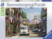 Ravensburger puzzel Idylisch zuid Frankrijk - Legpuzzel - 1500 stukjes