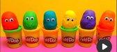 Play-Doh knutselset 12 potjes en met 80 wiebeloogjes