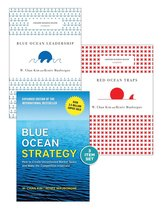 Blue Ocean Strategy with Harvard Business Review Classic Articles Blue Ocean Leadership and Red Ocean Traps (3 Books)