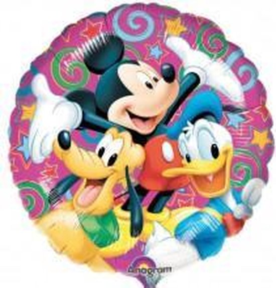 Disney figuren folie ballon