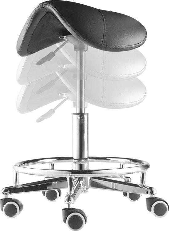 Zadelkruk| Werkkruk Ergonomisch | Knipkruk | ARBO | Verstelbaar |Max. zithoogte 63 cm