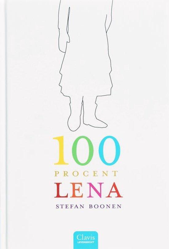 Cover van het boek '100 procent Lena' van Stefan Boonen