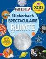 Afbeelding van het spelletje Kinderboeken Icob Ruimte - Feit & Spel stickerboek: Ruimte. 7+