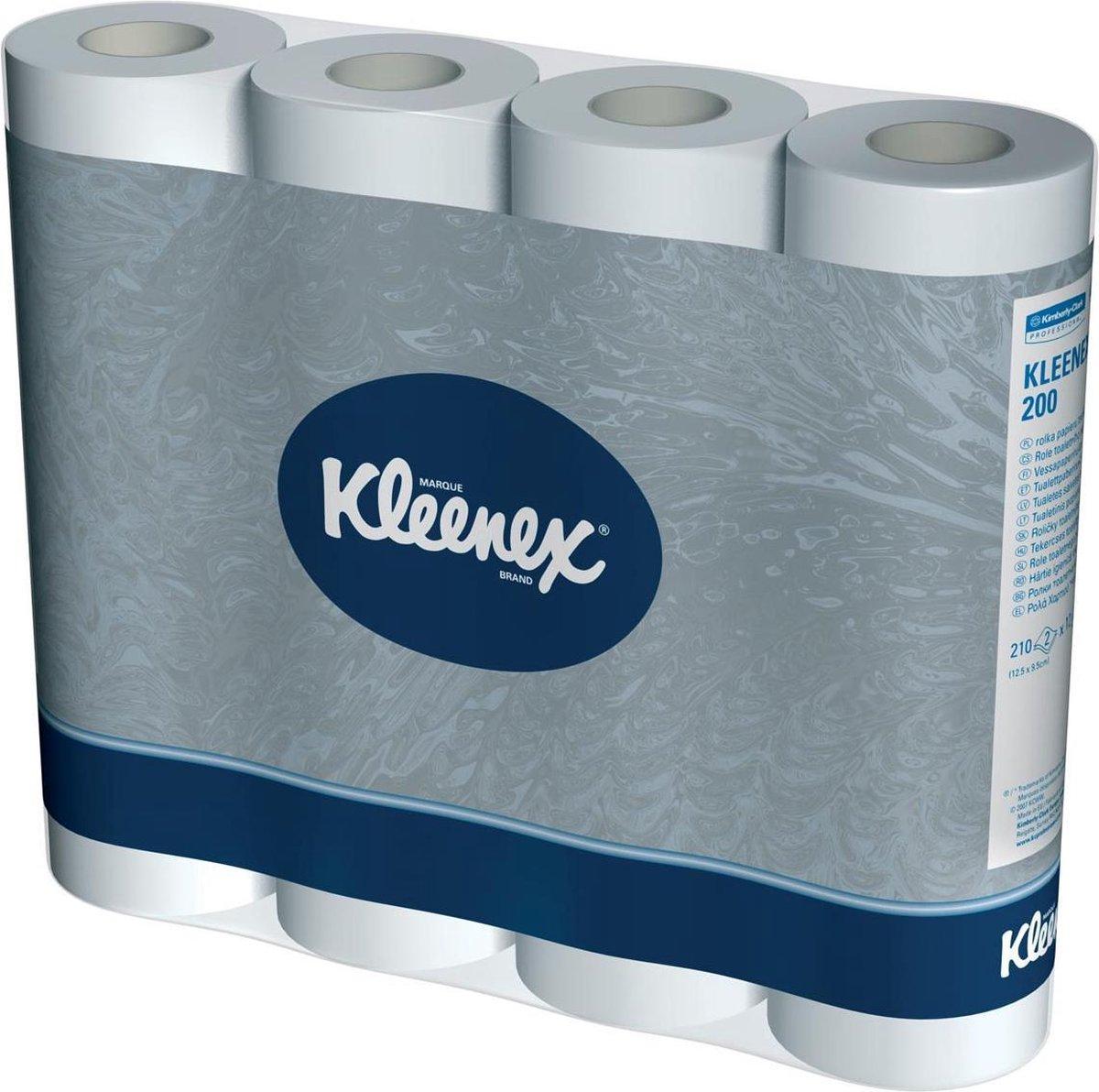Kleenex toiletpapier 2-laags 210 vellen pak van 12 rollen