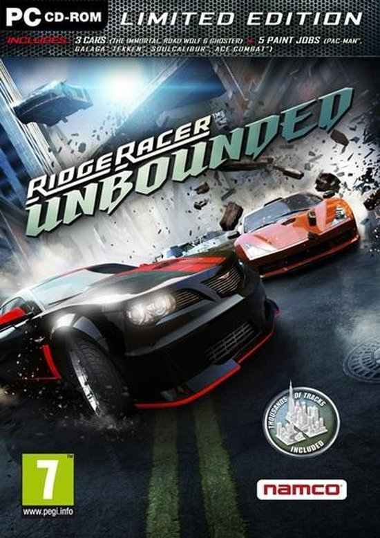 Ridge Racer Unbounded – Limited Edition – Windows