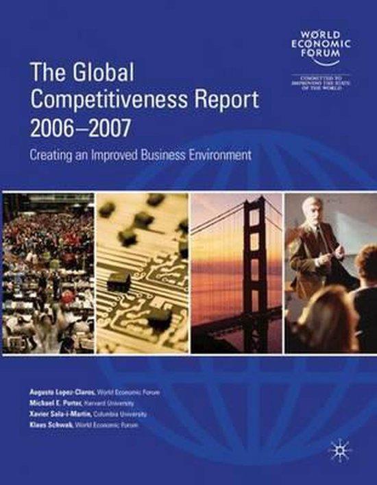 Boek cover The Global Competitiveness Report 2006-2007 van Augusto Lopez-Claros (Paperback)