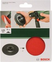 Bosch - Schuurplateau voor boormachines, 125 mm, klithechtsysteem 125 mm