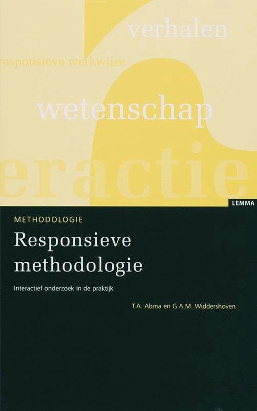 Responsieve methodologie - T.A. Abma |