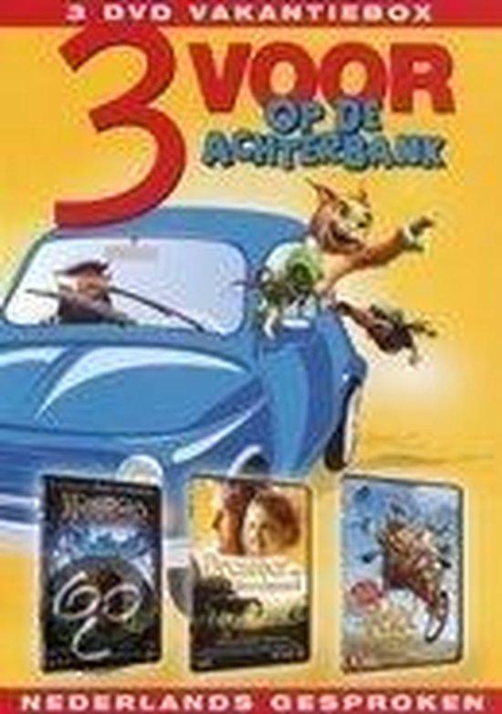 Cover van de film '3 Voor Op De Achterbank'