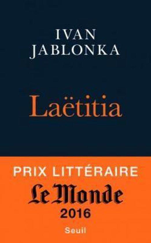 Boek cover Laetitia, ou La fin des hommes van Ivan Jablonka (Paperback)