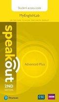Speakout Advanced Plus 2nd Edition MyEnglishLab Student Access Card