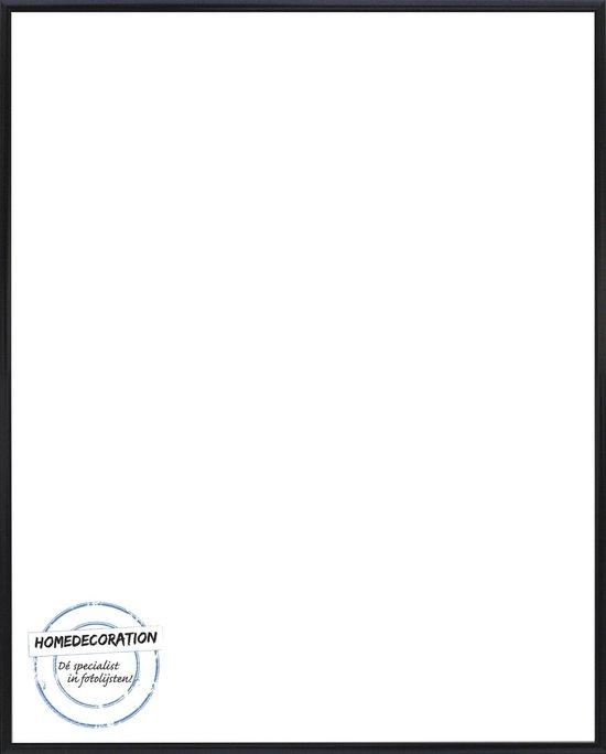 Homedecoration Kampen– Fotolijst – Fotomaat – 36x53 cm– Aluminium – Zwart hoogglans