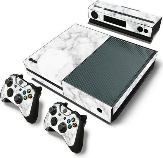 Marble White – Xbox One Console Skins Stickers