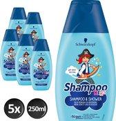 Schwarzkopf Kids Piraat Shampoo - 5 x 250ml