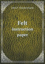 Felt Instruction Paper