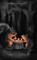 Eekhoorn zoekt eekhoorn