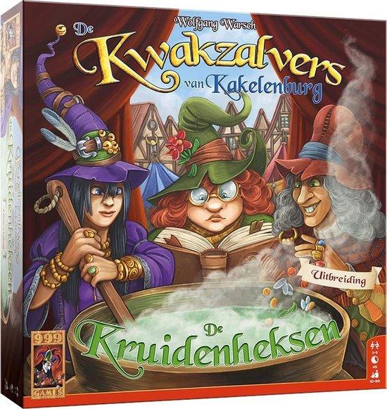 Afbeelding van De Kwakzalvers van Kakelenburg: De Kruidenheksen Bordspel speelgoed