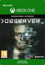 Observer - Xbox One Download