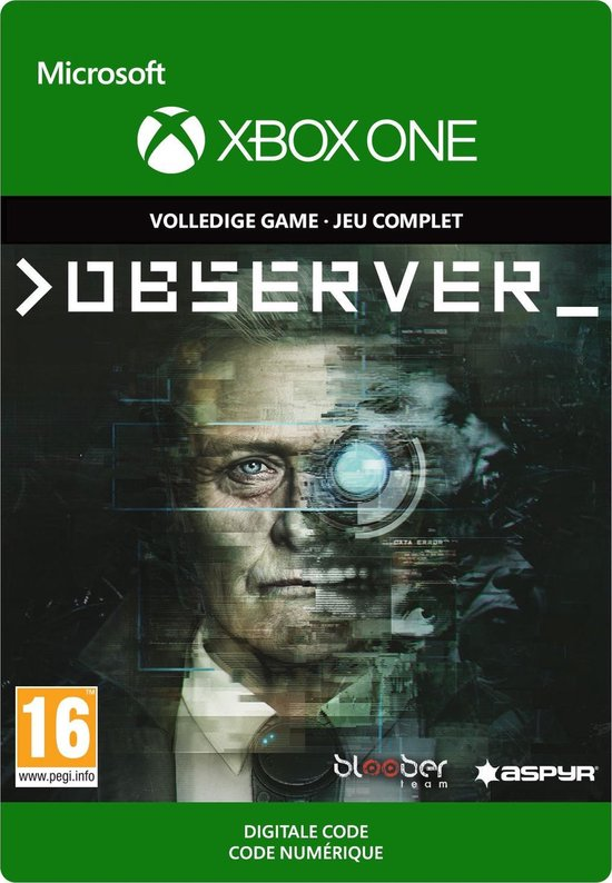 Observer – Xbox One Download