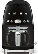 Smeg DCF02BLEU - koffiezetapparaat - zwart