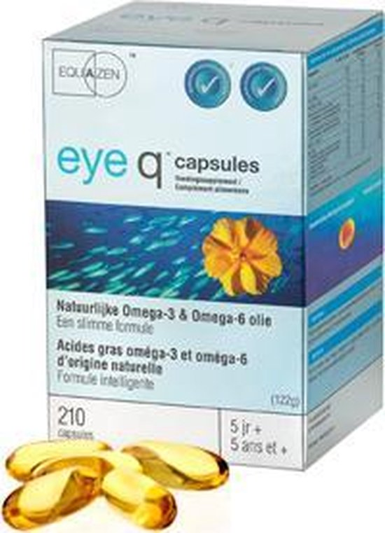 Springfield Eye Q Omega 3/6 - 210 Capsules