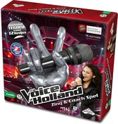 The Voice of Holland Zing & Coach Spel - Gezelschapsspel - Karaoke set met microfoon