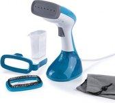 Cleanmaxx - Kledingstomer - Wit/blauw