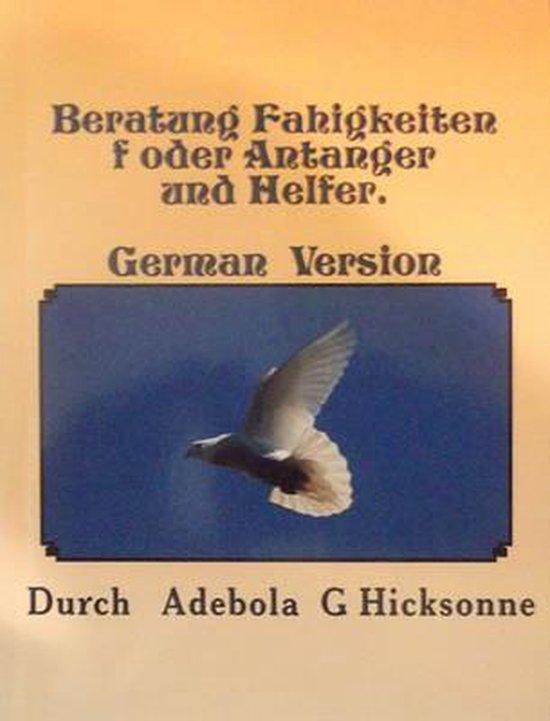Beratung Fahigkeiten F Oder Antanger and Helfer