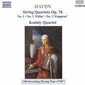 Haydn: String Quartets Op 76