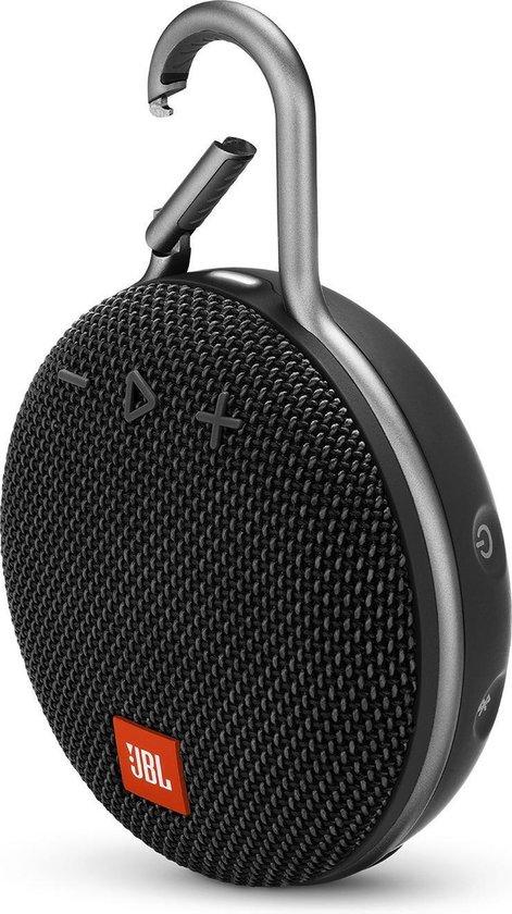 Afbeelding van JBL Clip 3 Zwart - Bluetooth Mini Speaker
