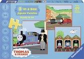 Ravensburger puzzel Thomas & Friends: Ready to go - 3x49 stukjes - kinderpuzzel