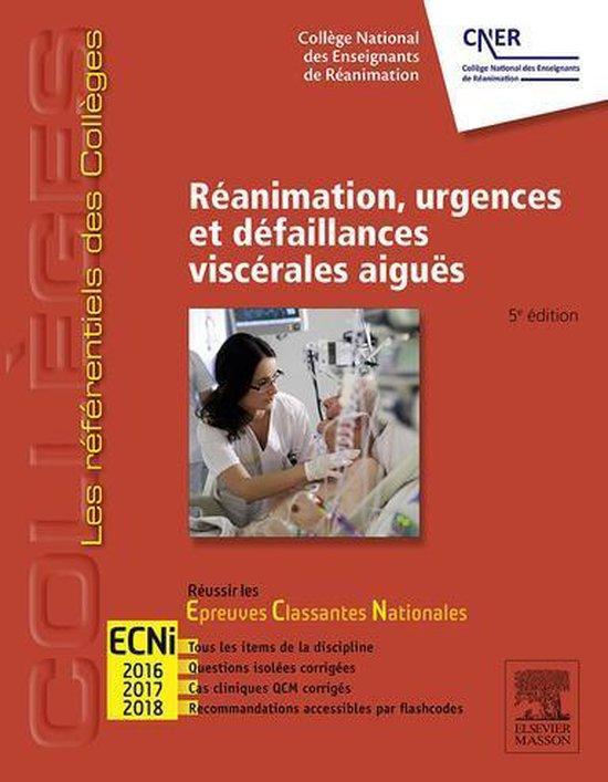 Boek cover Réanimation, urgences et défaillances viscérales aiguës van Collège Des Enseignants de Réa (Onbekend)