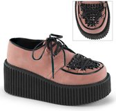 Demonia Creepers -38 Shoes- CREEPER-216 US 8 Roze