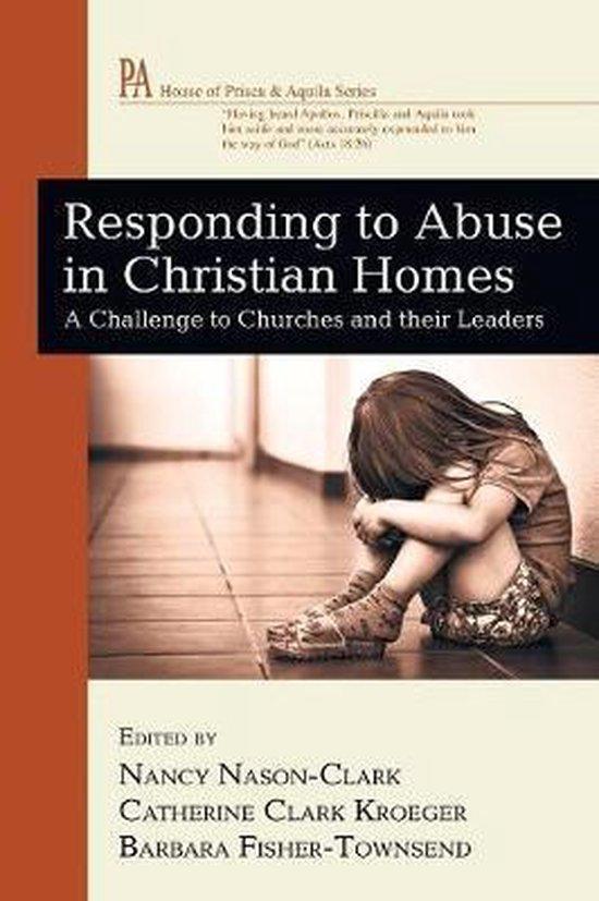 Boek cover Responding to Abuse in Christian Homes van  (Paperback)